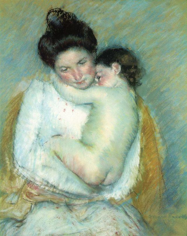 cassatt_mother-child_pastel